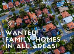 wanted family homes